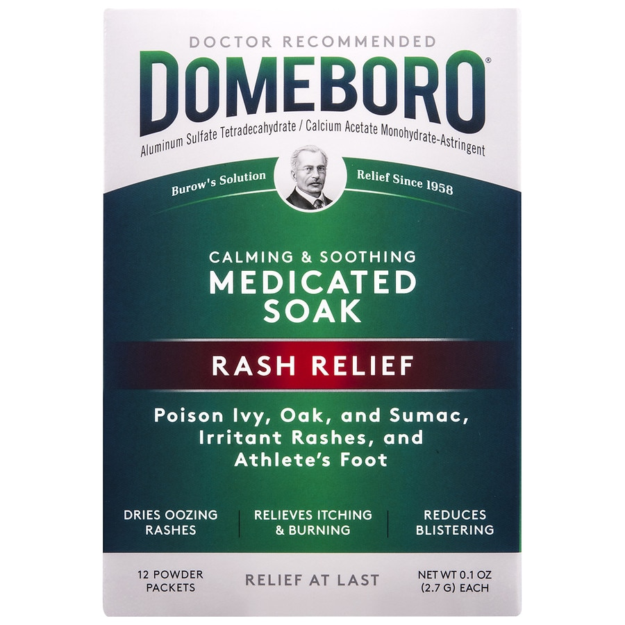 Domeboro Astringent Solution Powder Packets