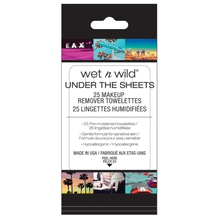 Wet n Wild Under the Sheets Makeup Remover Towelettes - 25 ea