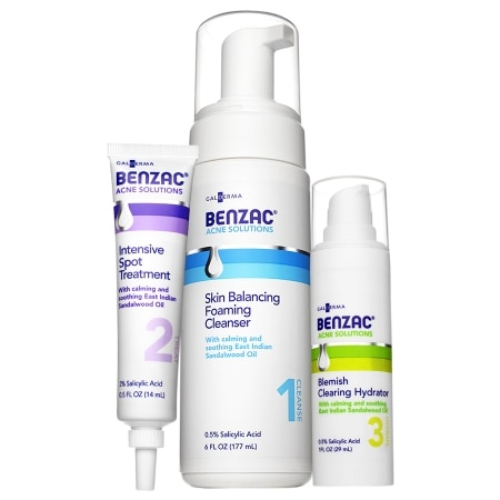 Benzac Complete Acne Solution Regimen - 1 set