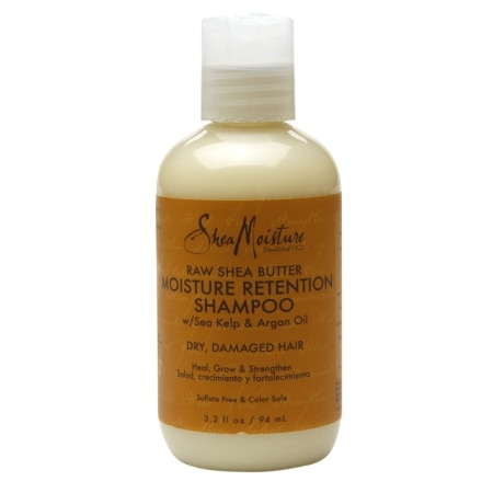 Image of SheaMoisture Moisture Retention Shampoo Raw Shea Butter - 3.2 fl oz