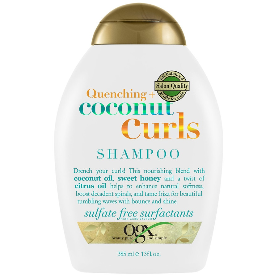 Ogx Quenching Coconut Curls Shampoo Walgreens