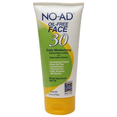 NO-AD Oil-Free Face Lotion SPF 30 - 6 fl oz