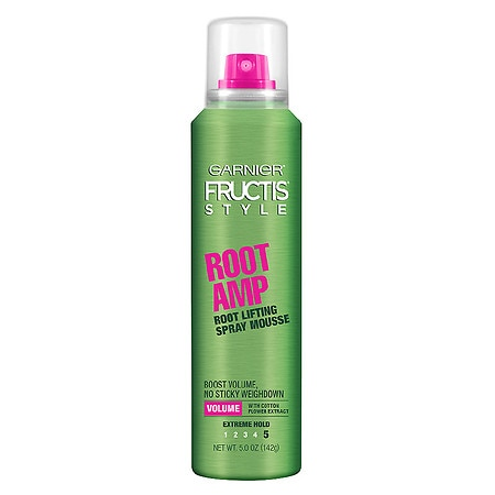 Image of Garnier Fructis Style Full & Plush Root Amp Root Lifting Spray Mousse - 5 oz.