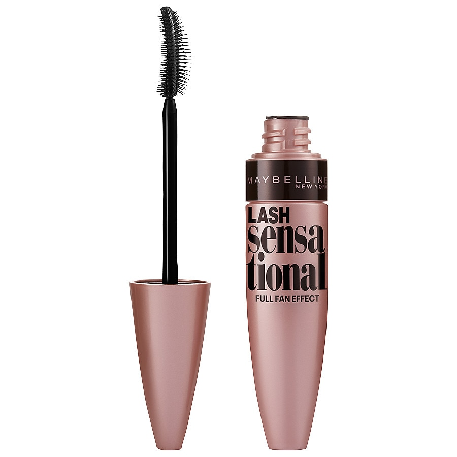 38cc9fb2097 Maybelline Lash Sensational Washable Mascara, Blackest Black | Walgreens