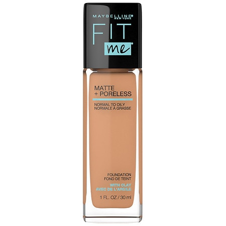 Maybelline Fit Me Matte + Poreless Liquid Foundation - 1 fl oz