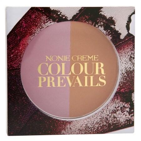 Nonie Creme Colour Prevails Bashful Biscuit Blush / Bronzer Duo - 0.24 oz.