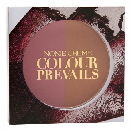 Nonie Creme Colour Prevails Bashful Biscuit Blush / Bronzer Duo - 0.24 oz.