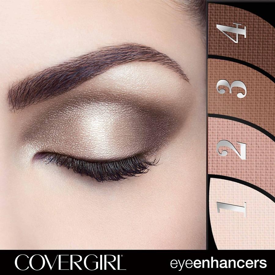 Bold Eyeshadow Eye Shadow Quads Covergirl
