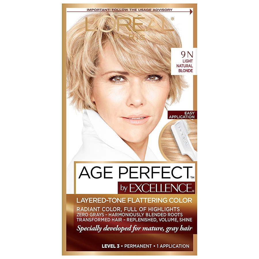 Loreal Paris Age Perfect Permanent Hair Colorlight Natural Blonde