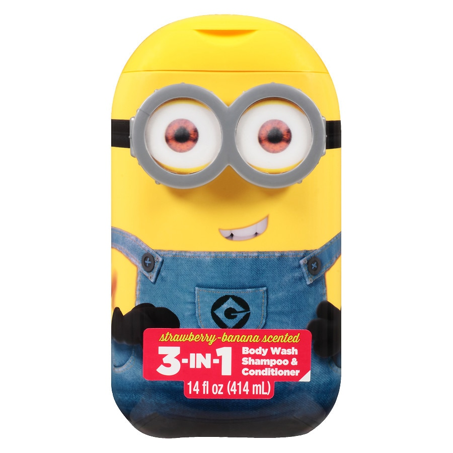 Despicable Me Minions 3 In 1 Body Wash Assorted Walgreens