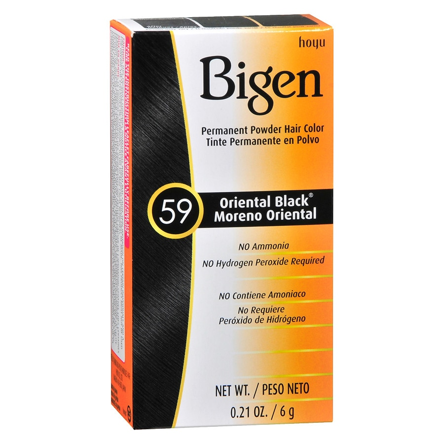 Bigen Permanent Hair Colororiental Black Walgreens