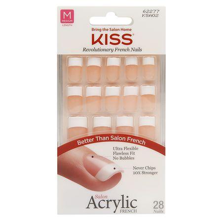 Kiss salon acrylic french nail kit walgreens for Acrylic nails walmart salon