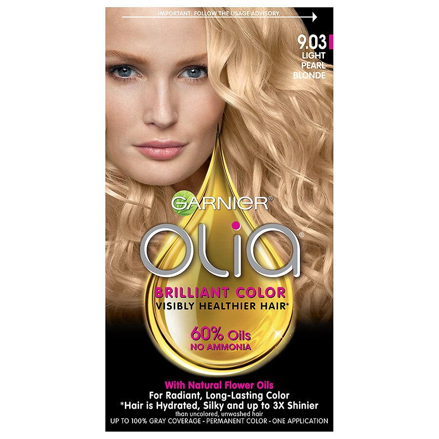 Garnier Olia Pearly Blondes Hair Color Walgreens