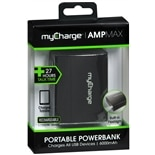 MyCharge Amp Max 6000 MAH Powerbank Black