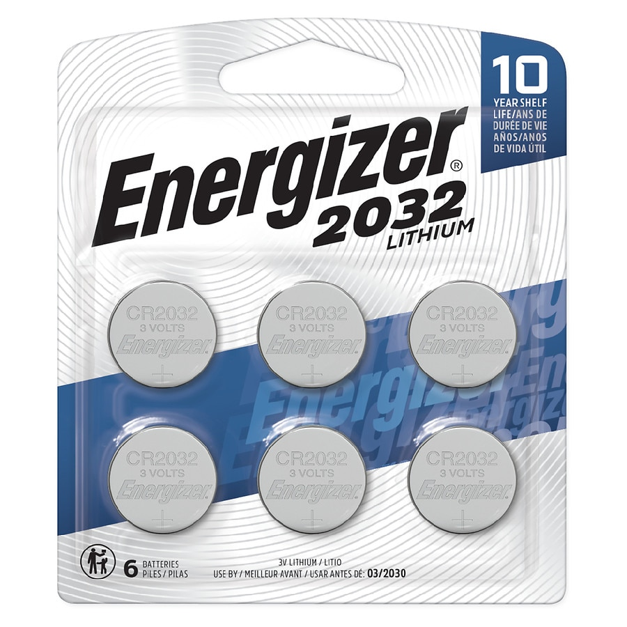 Energizer Battery Cr 2032 Walgreens Cr2332 3v Coin Cell Lithium Button Batteries For Electronic