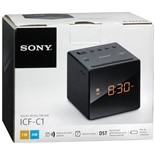 Sony Alarm Clock FM/ AM Black