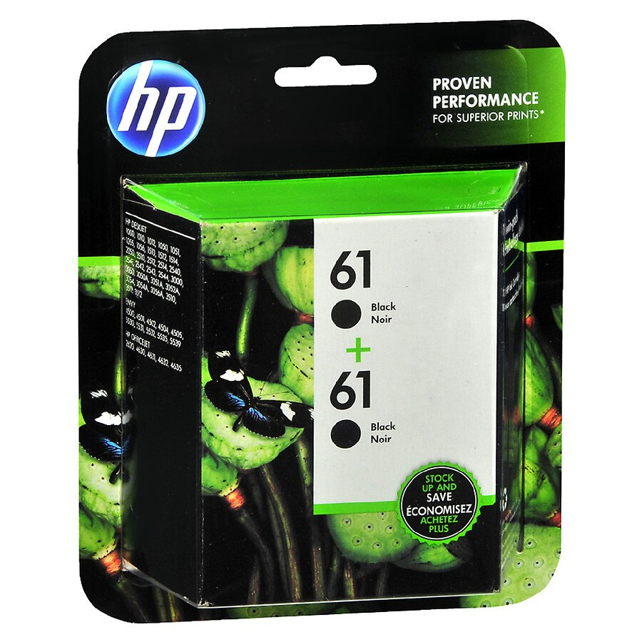 HP 61 Ink Cartridges Black