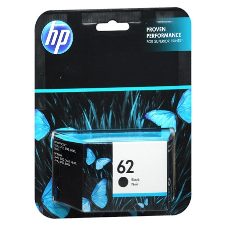 HP 62 Ink Cartridge - 1 ea