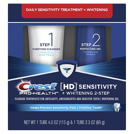 Crest Pro-Health HD Daily Two-Step Toothpaste System ...