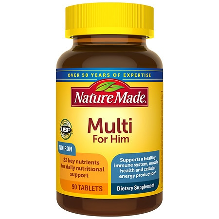 Nature Made Multi For Him Dietary Supplement Tablets