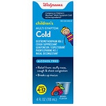 Walgreens Multisymptom Cold Medicine Berry