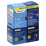Walgreens Children's Daytime/ Nighttime Multi-Symptom Cold Medicine Berry