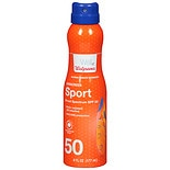Walgreens Sport Sunscreen Mist, SPF 50