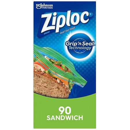 Ziploc Sandwich Bags - 90 ea