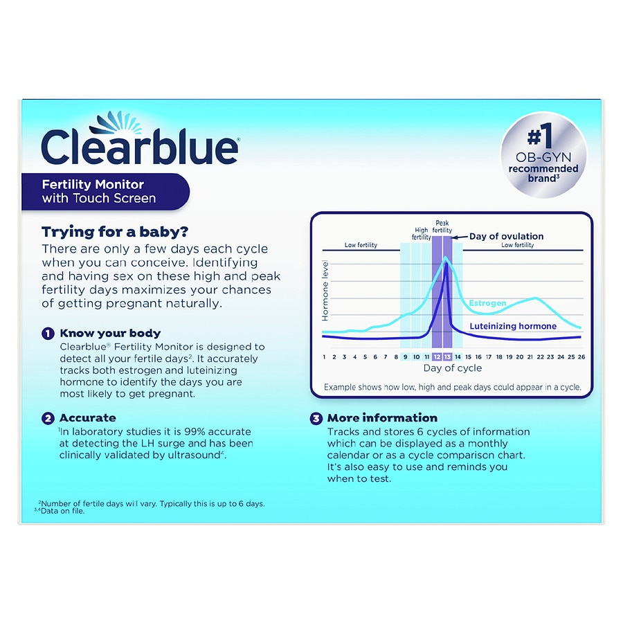 Clearblue easy ovulation coupons