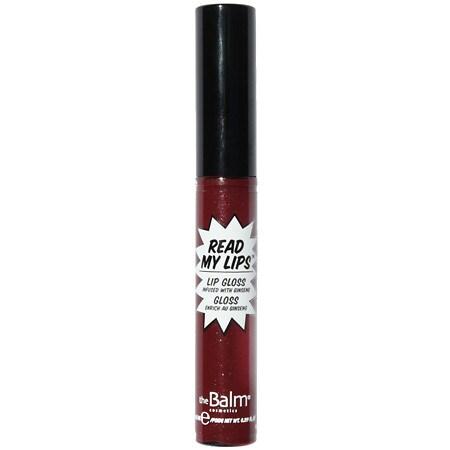 theBalm Read My Lips Lip Gloss - 1 ea