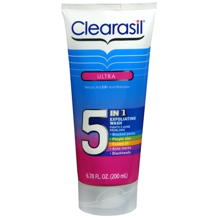 Clearasil Ultra 5 In 1 Wash 6.78 Oz.