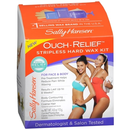 Sally Hansen Ouch Relief Stripless Wax Kit - 0.75 oz.