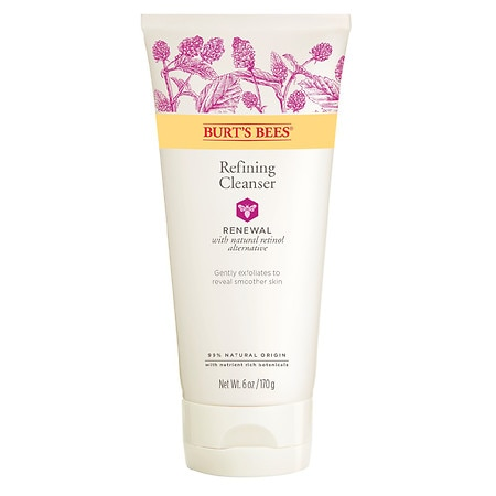 Burt's Bees Renewal Refining Cleanser, Firming Face Wash - 6 oz.