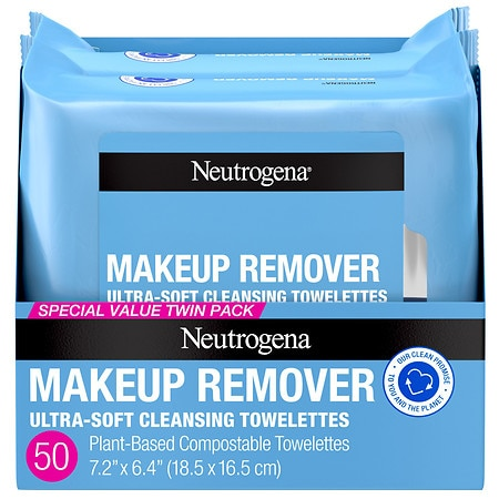 Neutrogena Makeup Remover Cleansing Towelettes Refill - 25 ea