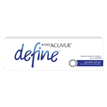 Image of 1-Day Acuvue Define Accent 30 pack - 1 Box