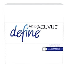 1-Day Acuvue Define Accent 90 pack