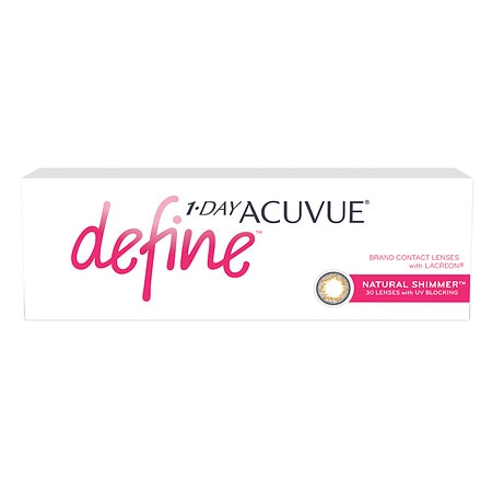 Image of 1-Day Acuvue Define Natural Shimmer 30 pack - 1 Box