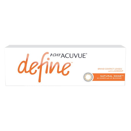 Image of 1-Day Acuvue Define Natural Shine 30 pack - 1 Box