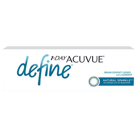 1-Day Acuvue Define Natural Sparkle 30 pack