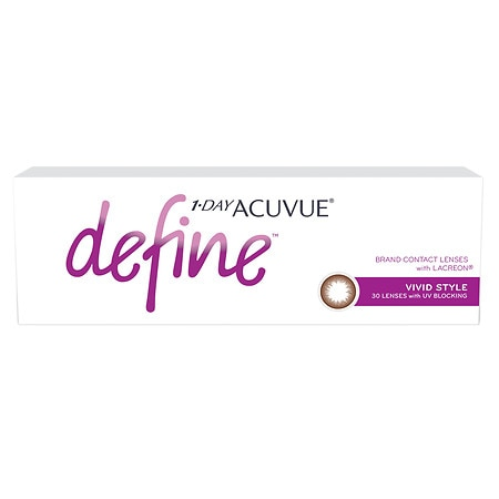 Image of 1-Day Acuvue Define Vivid 30 pack - 1 Box