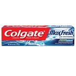 Colgate Max Fresh Shockwave Gel Toothpaste Electric Mint