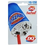 Dairy Queen Non-Denominational Gift Card