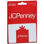 JC Penney Non-Denominational Gift Card