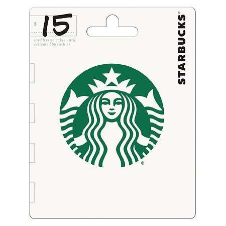 Starbucks $15 Gift Card | Walgreens