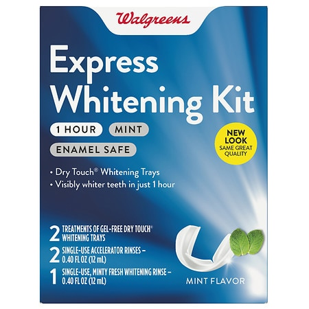 Walgreens One Hour Express Whitening Kit Mint - 1 ea