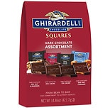 Ghirardelli Dark Chocolate Squares Favorites Bag Assorted