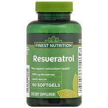 Finest Nutrition Resveratrol 500 Mg Walgreens