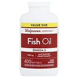 Walgreens Omega -3 Fish Oil 1000mg, Softgels