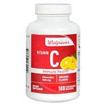 Walgreens Vitamin C Immune Health 500mg, Chewable Wafers Orange