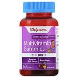 Walgreens Multivitamin Childrens Gummies Fruit